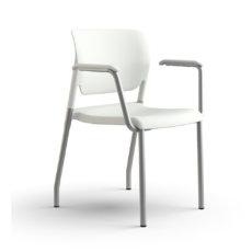 inflex multipurpose chair frost 3qfront gallery